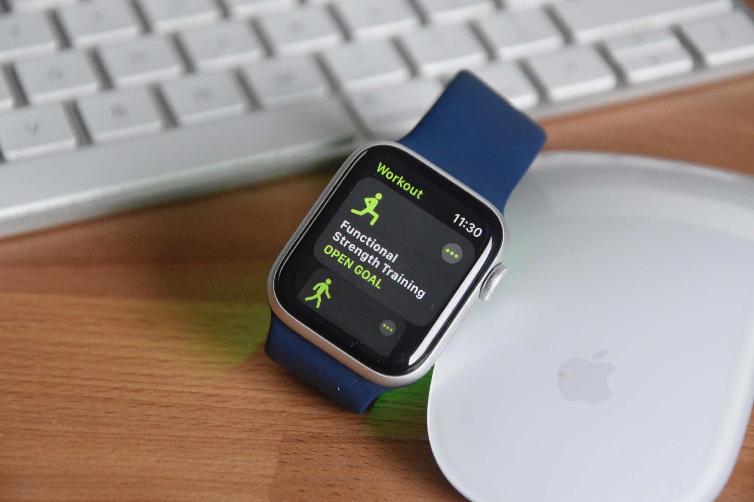 Apple Watch SE Workout App